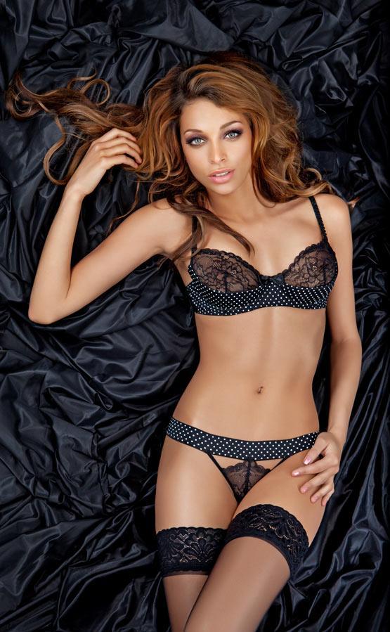 Super Sexy by Sapph Sandy Zwart Low Cup bh