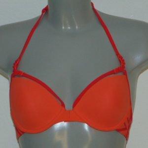 Marlies Dekkers Badmode Ta Moko Oranje Voorgevormde Bikinitop