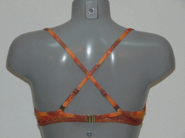 Sapph Beach Cinnamon Oranje Voorgevormde Bikinitop