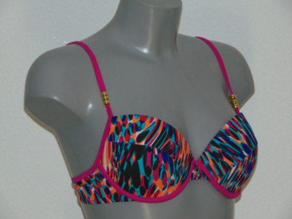 Sapph Beach Bora Bora Multicolor Voorgevormde Bikinitop
