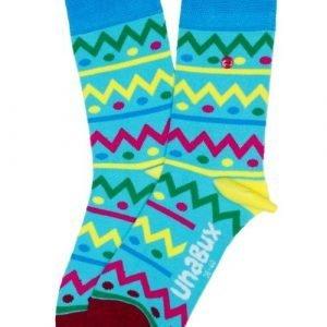 Unabux Easteregg Blauw Sokken