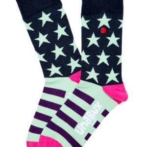 Unabux Koos Zwart Sokken