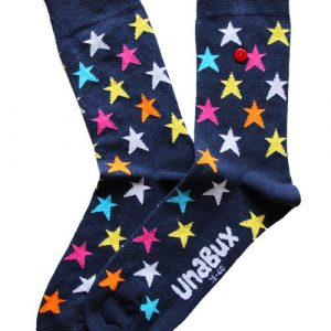 Unabux Koos Blauw Sokken