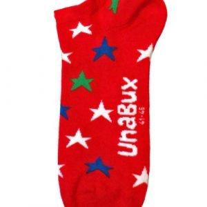 Unabux Cross-Cross Rood Sokken