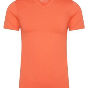 RJ Bodywear Men Pure Color Oranje T-shirt