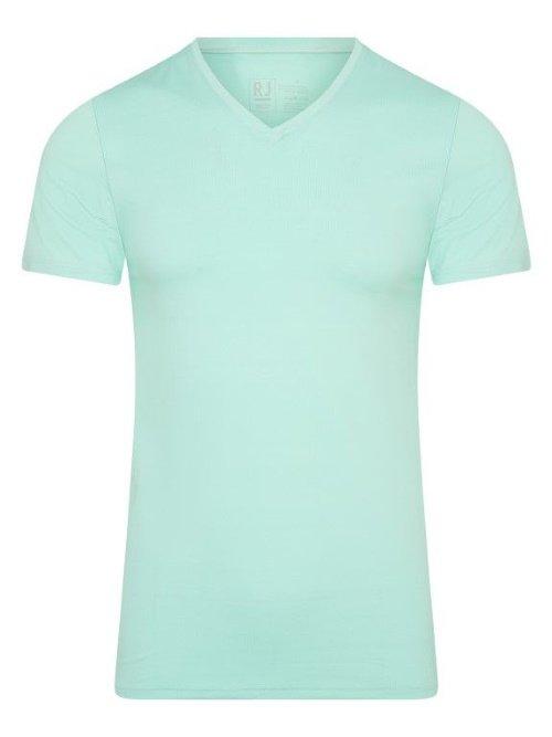 RJ Bodywear Men Pure Color Groen T-shirt