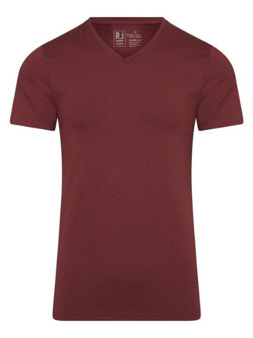 RJ Bodywear Men Pure Color Rood T-shirt