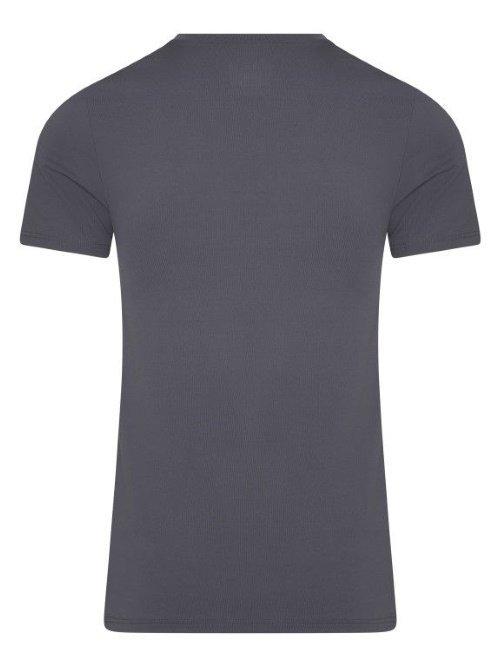 RJ Bodywear Men Pure Color Grijs T-shirt