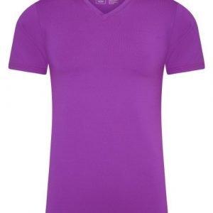 RJ Bodywear Men Pure Color Roze T-shirt