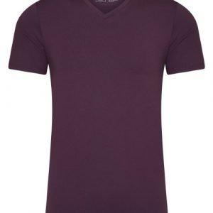 RJ Bodywear Men Pure Color Paars T-shirt