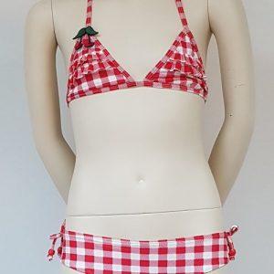 Boobs & Bloomers Stripes Rood/Wit BIkini Set