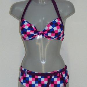 Shiwi Checkered Blauw BIkini Set