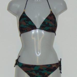 Shiwi Camoflage Zwart/Bruin BIkini Set