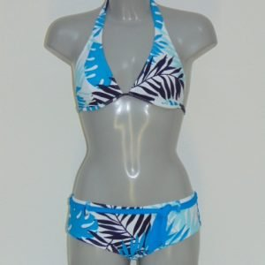 Shiwi Loesje Wit/Blauw BIkini Set