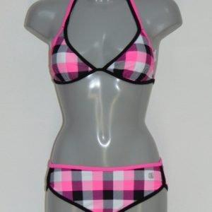 Shiwi Subject Roze/Zwart BIkini Set
