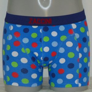 Zaccini Confetti Blauw Boxershort
