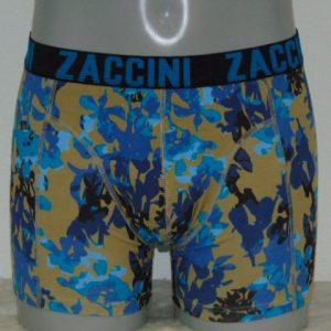 Zaccini Blue Tiles Blauw Boxershort