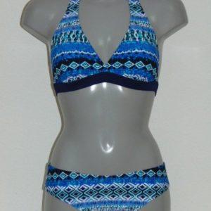 Nickey Nobel Eloise Blauw/Wit BIkini Set