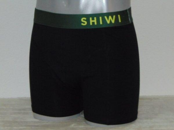 Shiwi Men Basic Zwart Boxershort