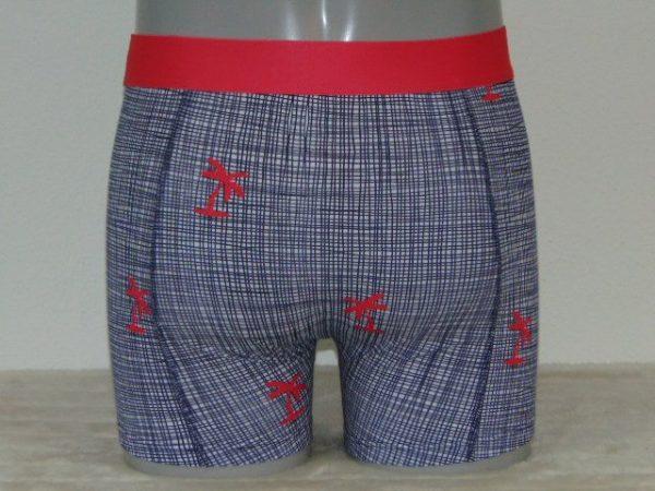 Shiwi Men Check Blauw Boxershort