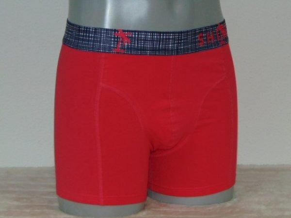 Shiwi Men Check Rood Boxershort