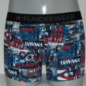 Funderwear Guevara Blauw Boxershort