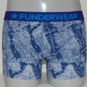 Funderwear Map Blauw Boxershort