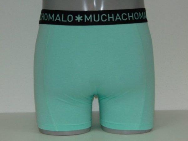 Muchachomalo Solid Groen Boxershort