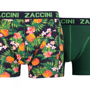 Zaccini pineapple Groen Boxershort
